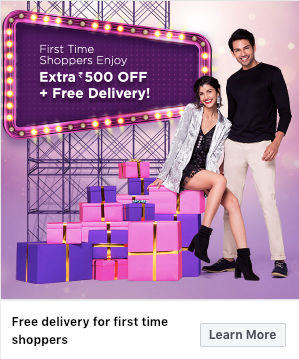 myntra fashion sale is from 22nd - 25th of December