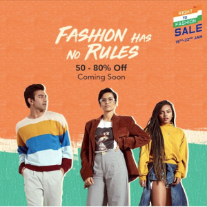 myntra fashion sale